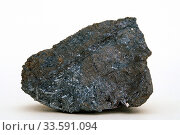 Wurtzite is a zinc iron sulfide mineral. Sample. Стоковое фото, фотограф J M Barres / age Fotostock / Фотобанк Лори