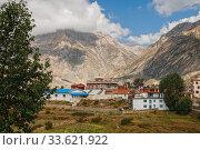 Купить «Ranipauwa Village, Nepal», фото № 33621922, снято 2 октября 2012 г. (c) Юлия Бабкина / Фотобанк Лори