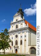 Church of Saint Joseph, Trnava, Slovakia (2019 год). Стоковое фото, фотограф Boris Breytman / Фотобанк Лори
