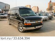 Купить «Chevrolet Express», фото № 33634394, снято 11 апреля 2008 г. (c) Art Konovalov / Фотобанк Лори