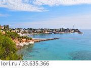 Купить «Beach of Cabo Roig, Costa Blanca, Spain», фото № 33635366, снято 13 марта 2020 г. (c) Alexander Tihonovs / Фотобанк Лори