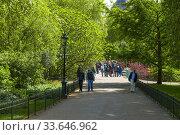 Купить «Walking St. James Park Westminster London England United Kingdom Capital River Thames UK Europe EU.», фото № 33646962, снято 10 мая 2019 г. (c) age Fotostock / Фотобанк Лори