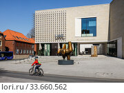 LWL Museum for Art and Culture, Muenster, North Rhine-Westphalia, Germany. Редакционное фото, агентство Caro Photoagency / Фотобанк Лори