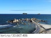 Вид на бухту Триозерье. Приморский край. Стоковое фото, фотограф antonio2007st / Фотобанк Лори