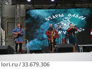 """Белорусская фолк-группа """"Стары Ольса"""" (2019 год). Редакционное фото, фотограф Марина Шатерова / Фотобанк Лори"""
