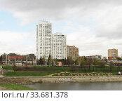 Купить «Челябинск», эксклюзивное фото № 33681378, снято 30 апреля 2020 г. (c) Елена Осетрова / Фотобанк Лори