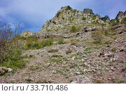 Купить «Demerdzhi Ghost Valley», фото № 33710486, снято 26 сентября 2019 г. (c) Александр Карпенко / Фотобанк Лори