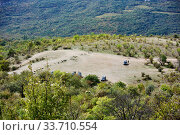 Купить «Demerdzhi Ghost Valley Crimea», фото № 33710554, снято 26 сентября 2019 г. (c) Александр Карпенко / Фотобанк Лори