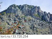 Купить «Demerdzhi Ghost Valley», фото № 33720254, снято 26 сентября 2019 г. (c) Александр Карпенко / Фотобанк Лори