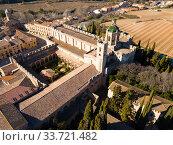 Monastery of Santa Maria de Santes Creus (2019 год). Стоковое фото, фотограф Яков Филимонов / Фотобанк Лори
