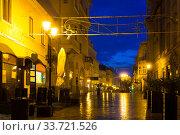 Streets of Gyor, Hungary (2017 год). Стоковое фото, фотограф Яков Филимонов / Фотобанк Лори