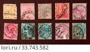 Купить «Close up of Old Postal Stamp Album», фото № 33743582, снято 28 мая 2020 г. (c) age Fotostock / Фотобанк Лори