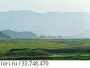 Купить «North Korea. Countryside», фото № 33748470, снято 3 мая 2019 г. (c) Знаменский Олег / Фотобанк Лори