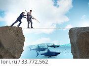 Купить «Concept of unethical business competition», фото № 33772562, снято 4 июня 2020 г. (c) Elnur / Фотобанк Лори