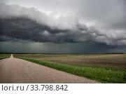 Купить «Prairie Storm Clouds Canada Saskatchewan Summer Warnings», фото № 33798842, снято 2 июня 2020 г. (c) age Fotostock / Фотобанк Лори