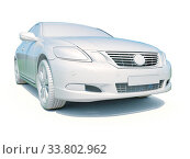 Купить «3d Car White Icon, 3d Car Blank Template, 3d White Car Icon with Shadow, Business Sedan Car on White Background, Automobile Isolated, Automobile Service Sign, Auto Body, Automobile Industry», фото № 33802962, снято 5 августа 2020 г. (c) age Fotostock / Фотобанк Лори