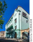 Купить «Old historic house in Odessa, Ukraine», фото № 33804634, снято 3 мая 2020 г. (c) Sergii Zarev / Фотобанк Лори