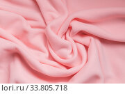 Background texture of pink fleece. Стоковое фото, фотограф EugeneSergeev / Фотобанк Лори