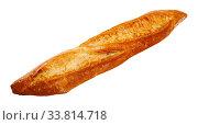 Freshly baked white baguette. Стоковое фото, фотограф Яков Филимонов / Фотобанк Лори