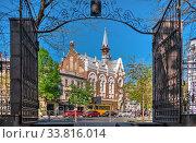 Купить «Evangelical Presbyterian Church in Odessa, Ukraine», фото № 33816014, снято 28 апреля 2020 г. (c) Sergii Zarev / Фотобанк Лори