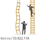Купить «Career competition in business environment», фото № 33822118, снято 29 мая 2020 г. (c) Elnur / Фотобанк Лори