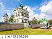 Купить «Nicolo-Vyazhishchsky monastery in Novgorod, Russia», фото № 33836526, снято 23 августа 2019 г. (c) FotograFF / Фотобанк Лори