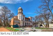 Купить «Cottage Marazli in Odessa, Ukraine», фото № 33837694, снято 17 марта 2020 г. (c) Sergii Zarev / Фотобанк Лори