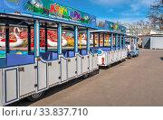 Купить «Quarantined Luna Park in Odessa, Ukraine», фото № 33837710, снято 17 марта 2020 г. (c) Sergii Zarev / Фотобанк Лори