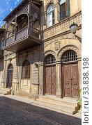 Купить «Балкон в восточном стиле в Старом городе Баку. Азербайджан», фото № 33838198, снято 23 сентября 2019 г. (c) Евгений Ткачёв / Фотобанк Лори