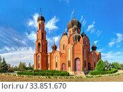 Купить «Church of St Nicholas in Rybakovka, Ukraine», фото № 33851670, снято 31 августа 2019 г. (c) Sergii Zarev / Фотобанк Лори