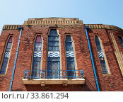 Купить «Southport, merseyside, united kingdom - 28 june 2019: the former garrick theatre building on lord street in southport an example of 1930s brick art deco design», фото № 33861294, снято 3 июня 2020 г. (c) age Fotostock / Фотобанк Лори
