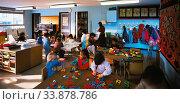 Nursery School, Newham, London, England. Стоковое фото, фотограф Alex Bartel / age Fotostock / Фотобанк Лори