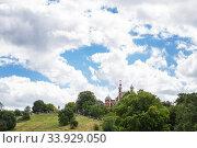 LONDON, UK - AUGUST 19, 2017 - Royal Observatory in Greenwich park, London. Стоковое фото, фотограф Nataliia Zhekova / Фотобанк Лори