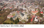 Купить «Flight over the city Krasnik. Poland», видеоролик № 33930342, снято 10 марта 2020 г. (c) Яков Филимонов / Фотобанк Лори