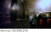 Купить «UNESCO World Heritage is Salt Mine in Wieliczka», видеоролик № 33934214, снято 11 марта 2020 г. (c) Яков Филимонов / Фотобанк Лори