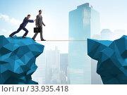 Купить «Concept of unethical business competition», фото № 33935418, снято 5 июля 2020 г. (c) Elnur / Фотобанк Лори