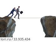 Купить «Concept of unethical business competition», фото № 33935434, снято 5 июля 2020 г. (c) Elnur / Фотобанк Лори