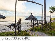 Summer house on the Beach in Tanzania (2020 год). Редакционное фото, фотограф Александр Бекишев / Фотобанк Лори