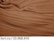 plisse fabric background texture. Стоковое фото, фотограф Nataliia Zhekova / Фотобанк Лори