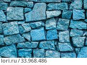 Купить «grunge stone wall background texture. brick wall background», фото № 33968486, снято 16 февраля 2018 г. (c) Nataliia Zhekova / Фотобанк Лори