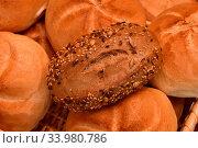 Körnerbrötchen, Brötchen, Semmel, bread roll. Стоковое фото, фотограф Zoonar.com/Jürgen Vogt / easy Fotostock / Фотобанк Лори
