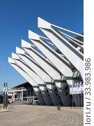 Купить «Germany, Bremen - The OeVB-Arena (Stadthalle) is the largest venue in the city», фото № 33983986, снято 23 апреля 2020 г. (c) Caro Photoagency / Фотобанк Лори
