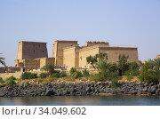 Купить «Temple of Isis, UNESCO World Heritage Site, Philae Island, Aswan, Egypt», фото № 34049602, снято 14 марта 2020 г. (c) age Fotostock / Фотобанк Лори