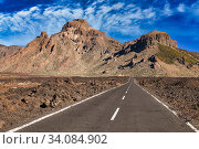 Купить «Las Cañadas, El Teide National Park, Tenerife, Canary Island, Spain», фото № 34084902, снято 5 мая 2012 г. (c) age Fotostock / Фотобанк Лори