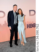 Thandie Newton and Ol Parker at the HBO's 'Westworld' Season 3 premiere held at the TCL Chinese Theatre in Hollywood, USA on March 5, 2020. Стоковое фото, фотограф Zoonar.com/Lumeimages / age Fotostock / Фотобанк Лори