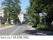Купить «Клинцы улица Жукова», эксклюзивное фото № 34098582, снято 24 июня 2020 г. (c) Дмитрий Неумоин / Фотобанк Лори