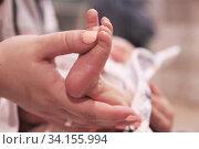 Маленькие пяточки. Стоковое фото, фотограф Инна Козырина (Трепоухова) / Фотобанк Лори