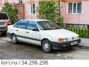 Купить «Volkswagen Passat», фото № 34298298, снято 16 июня 2020 г. (c) Art Konovalov / Фотобанк Лори