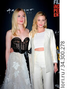 Elle Fanning and Lili Reinhart at the 2018 LA Film Festival screening of 'Galveston' held at the ArcLight Culver City in Culver City, USA on September 23, 2018. Стоковое фото, фотограф Zoonar.com/Lumeimages.com / age Fotostock / Фотобанк Лори