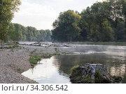 Isar Altwasser, Isar backwater. Стоковое фото, фотограф Zoonar.com/Bosch Marcus / easy Fotostock / Фотобанк Лори